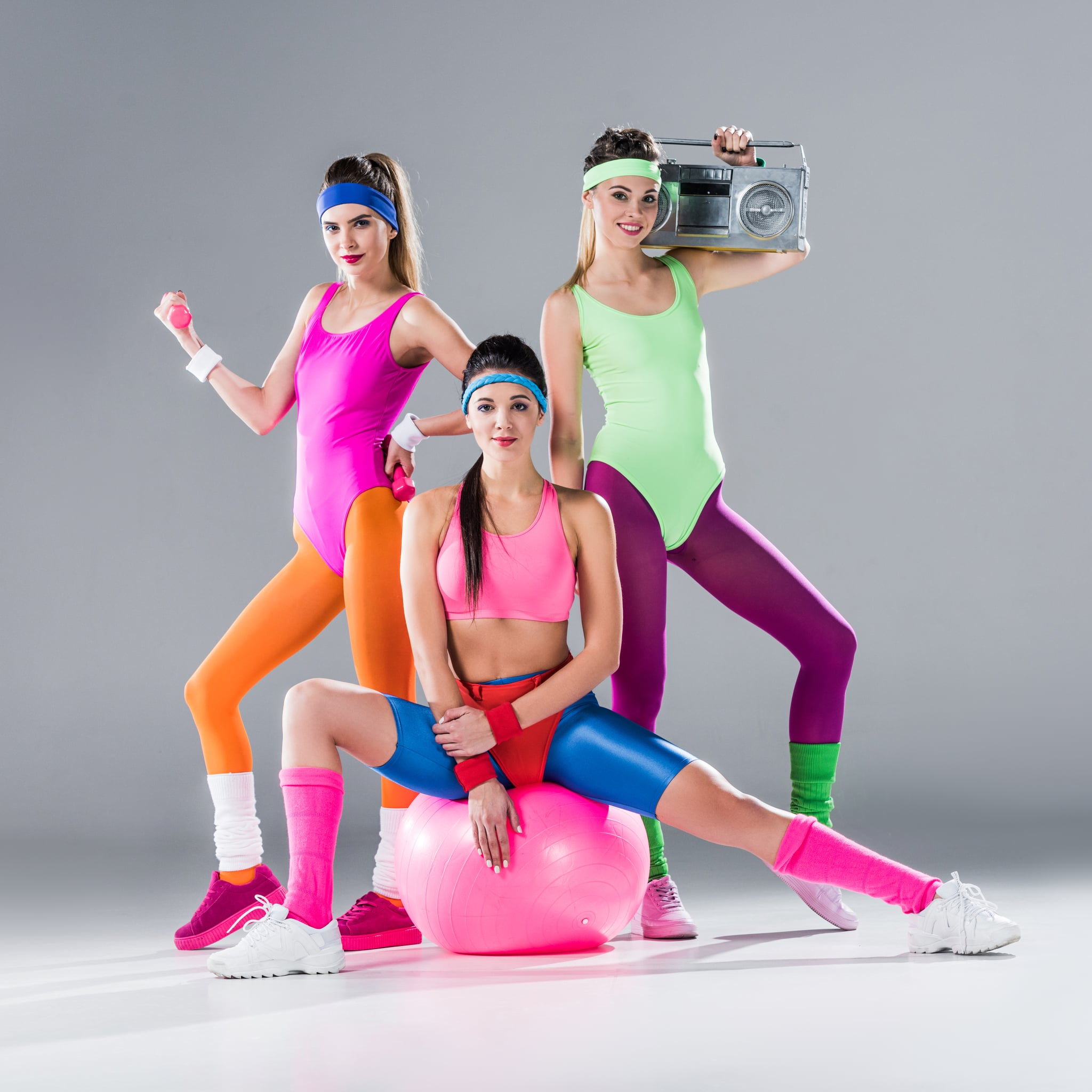 80s Exercise Fashion