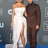 Chrissy Teigen and John Legend at the 2019 Critics' Choice
