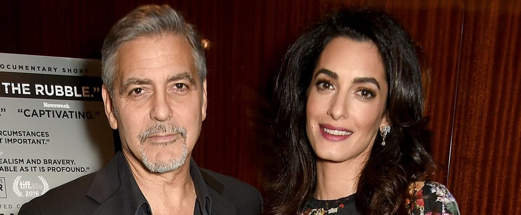 "George Clooney Gushes About Amal's Pregnancy: ""It's Going to Be an Adventure"""