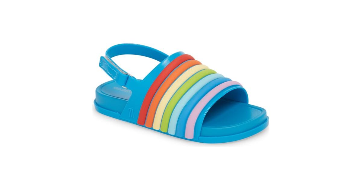 58807b2386ca Mini Melissa Rainbow Beach Sandal