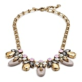 J.Crew Crystal Drop Necklace