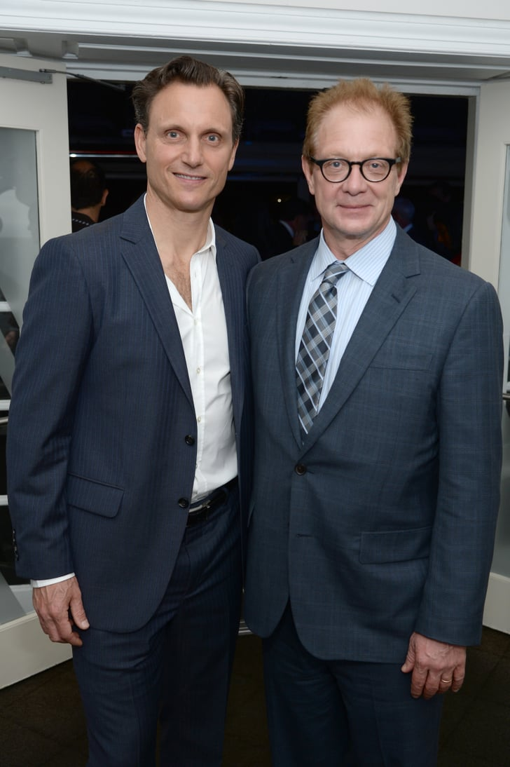 tony goldwyn spent time with jeff perry  who plays his