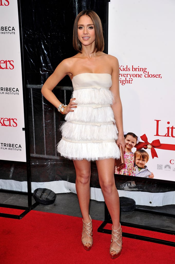 Little Fockers Cast Welcomes Jessica Alba at NYC Premiere