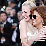 Elle Fanning and Susan Sarandon