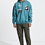 Focus Pigment Dye Hoodie Sweatshirt