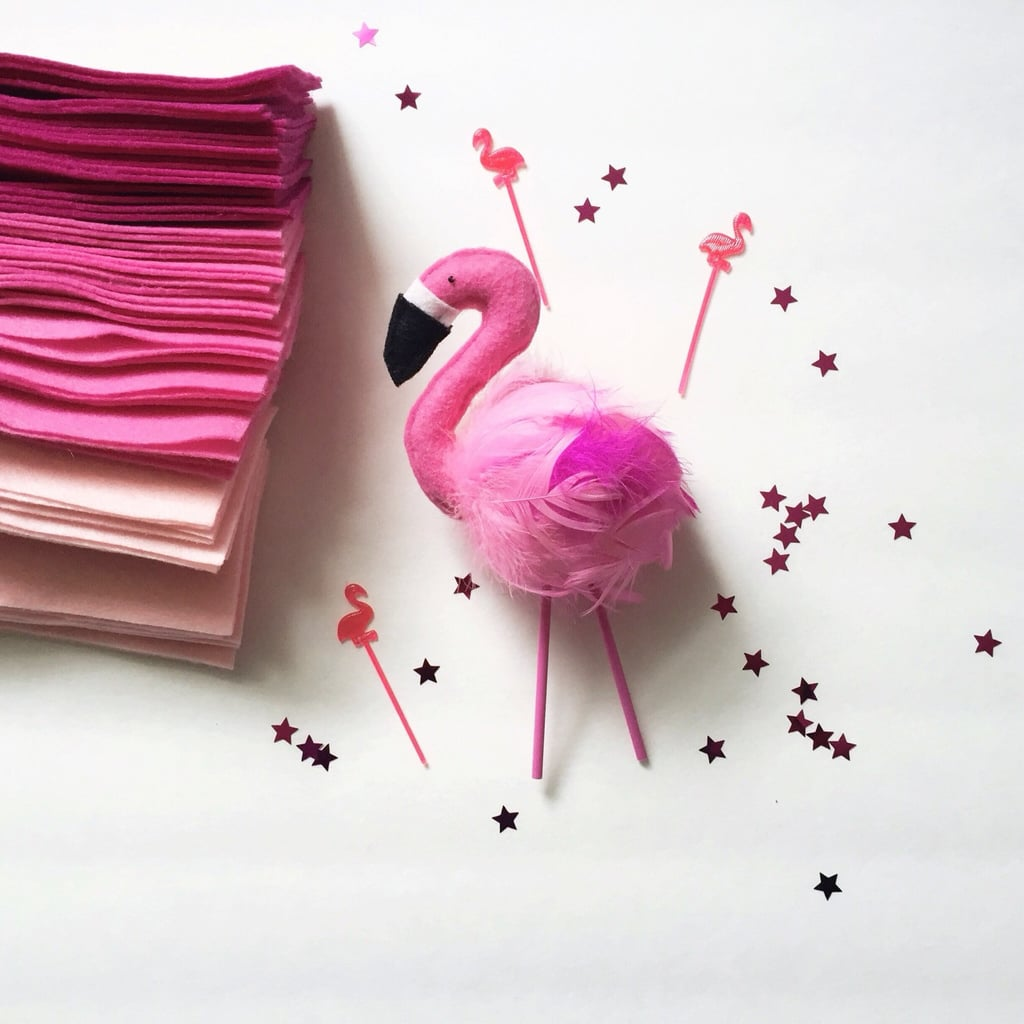 Flamingo Cake Topper ($40)