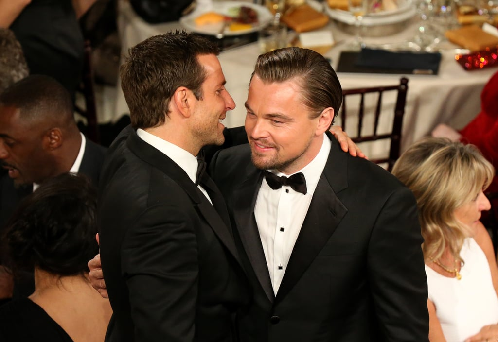 Bradley Also Showed His Appreciation For Leo at the Globes
