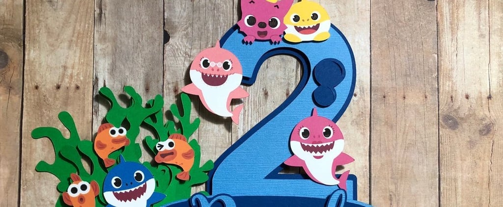 Baby Shark Party Supplies For Kid Birthdays