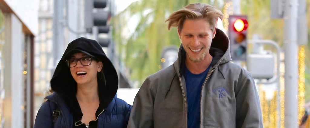 Kaley Cuoco Laughs Up a Storm With Boyfriend Karl Cook During an LA Shopping Trip