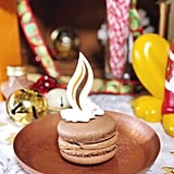 Hot Cocoa Marshmallow Macaron