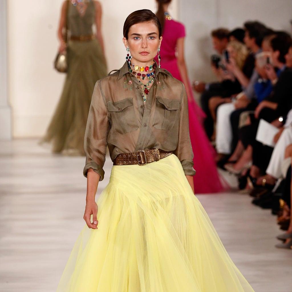 Ralph Lauren Spring 2015 Show New York Fashion Week Popsugar Fashion