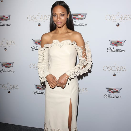 Zoe Saldana's First Red Carpet Since Third Baby