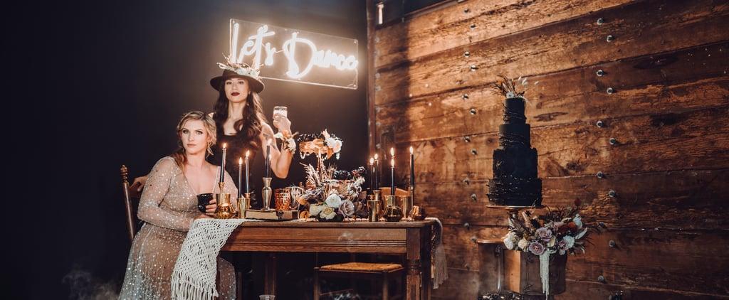 Goth Western Wedding Ideas