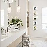 Contemporary And Calm Bathroom Hanging Lights Popsugar