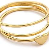 Gorjana Carina Midi Ring Set ($35)