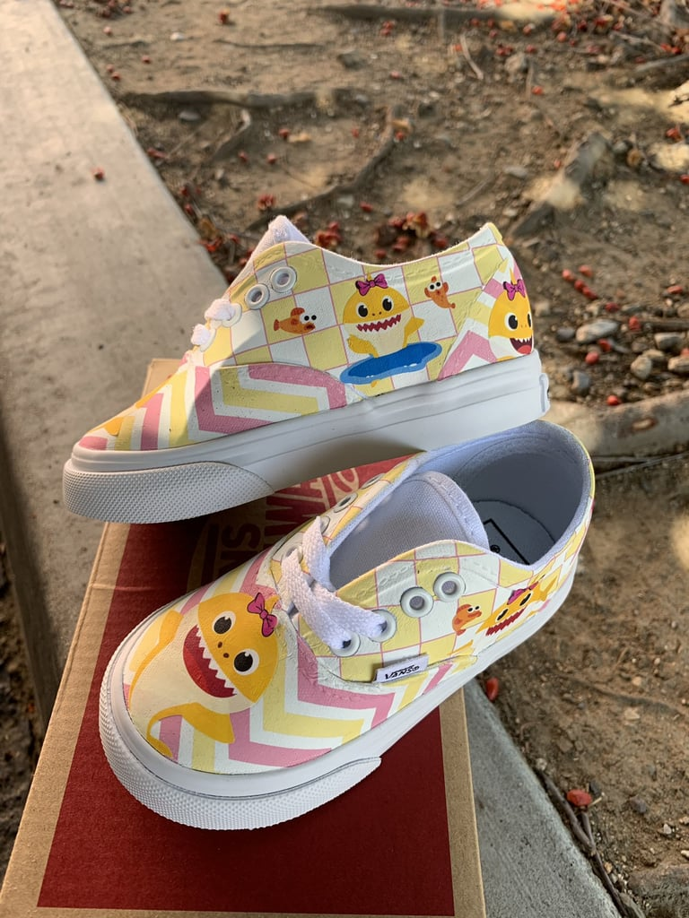 Yellow Baby Shark Shoes