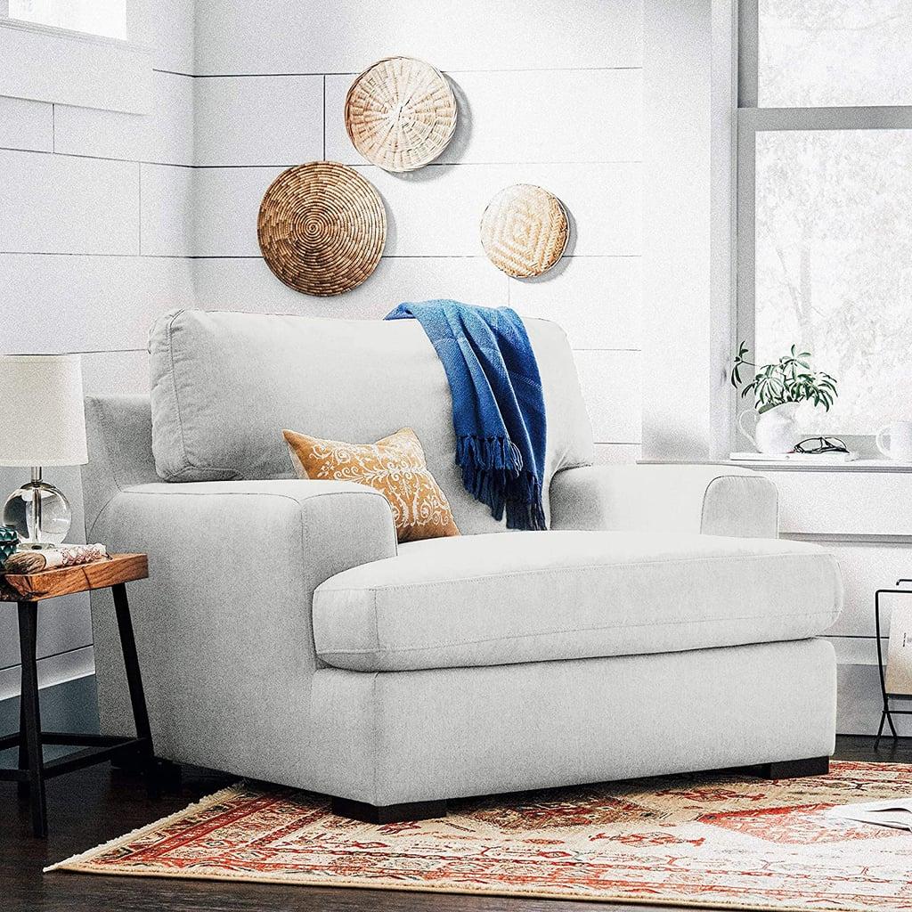 Stone & Beam Lauren Down-Filled Oversized Armchair