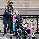 Sarah Jessica Parker and Tabitha and Marion: CYBEX Onyx