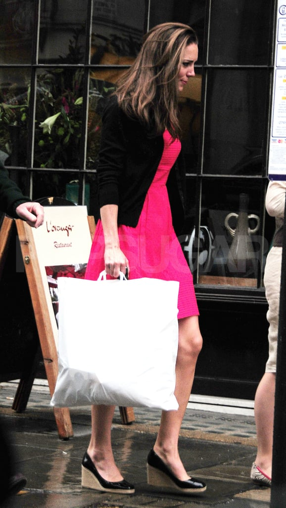Celebrity shopping pictures