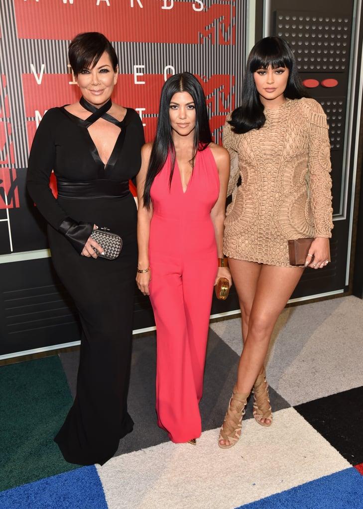 Kardashian-Jenner Family at the MTV VMAs 2015 Pictures