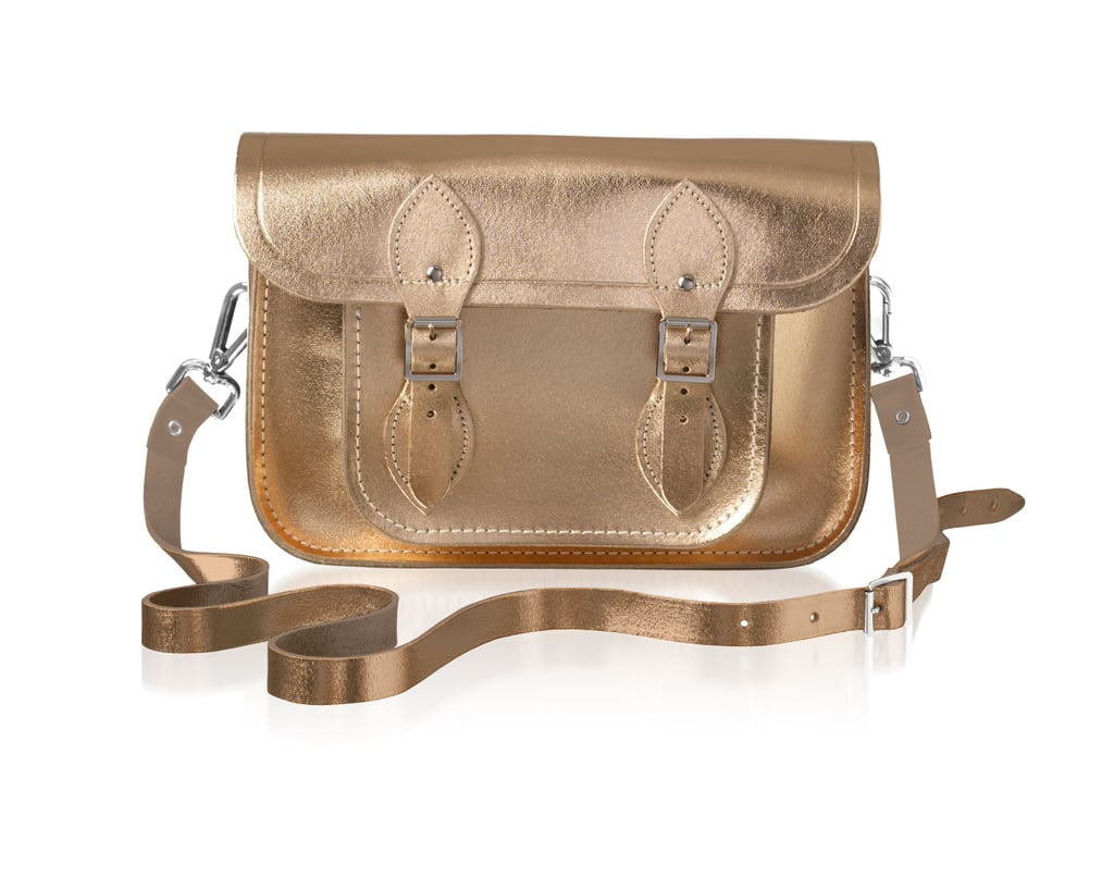 The Cambridge Satchel Company 11-Inch Satchel in Rose Gold ($185)