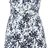 Michael Michael Kors Floral Print Belted Dress ($186)