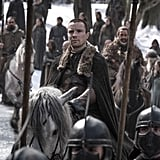 """On auditioning three times before landing Gendry: """"I auditioned for the pilot. I had no idea what Game of Thrones was. Didn't get it. Kind of forgot about it . . . nobody knew it was going to become the biggest TV show on the planet at that point. [I] was convinced that they must just think I'm a terrible actor. Then Gendry came along and again I went along to the audition and I think it was three auditions I had. I had one in London, then one in Belfast, where I met [showrunners] David [Benioff] and Dan [Weiss] for the first time. And then a final one where David and Dan were there again. And there was like four other producers in the room, too. And I was fairly convinced it was the worst audition I've ever given."""""""
