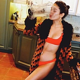 Vanessa Hudgens Orange Bikini August 2018