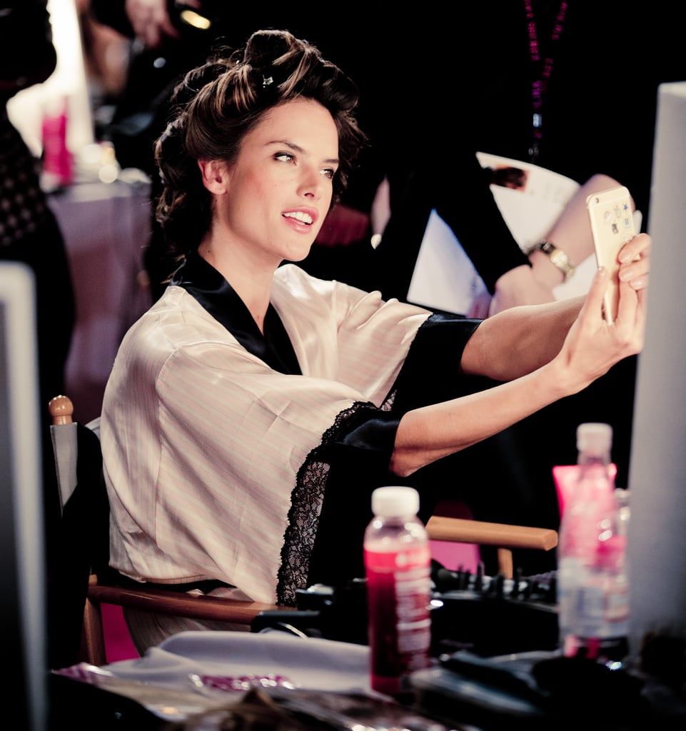Hair and Makeup at the Victoria's Secret Fashion Show 2014