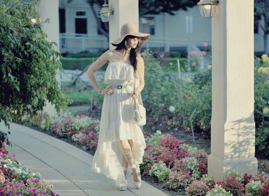 Ruffling Summer Dress