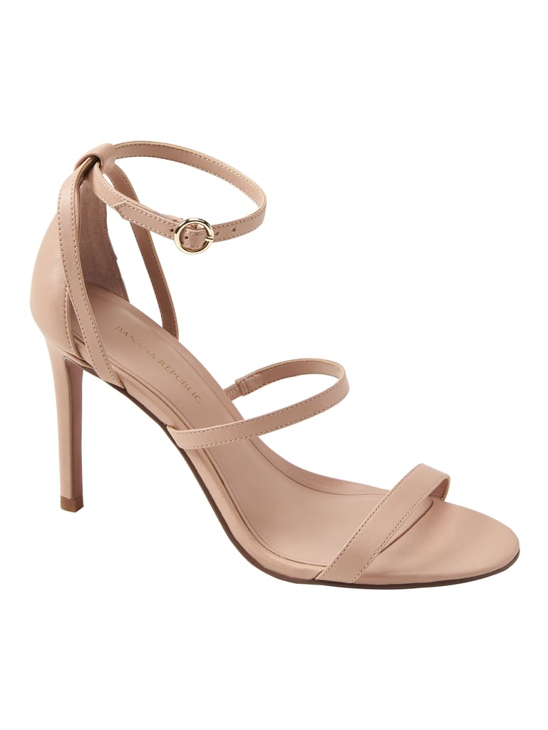 e5a94a19201 Banana Republic Bare High-Heel Sandal in Sonoran Beige Suede ...