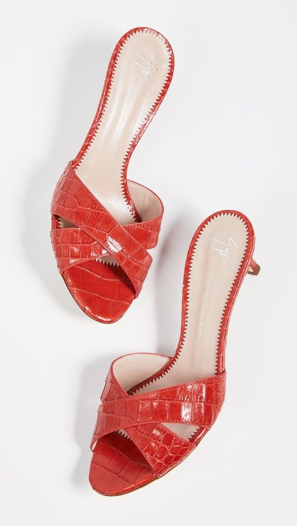 Giuseppe Zanotti Alien Slide Sandals