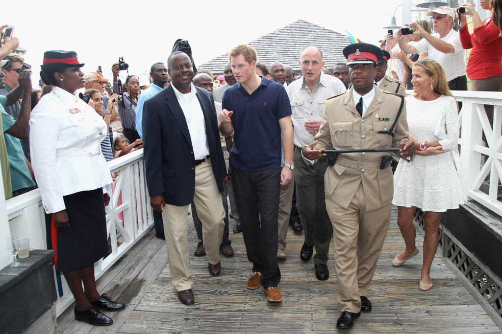 A visit to the Bahamas was also a part of Harry's inaugural royal tour in 2012, and he made a special request to visit Windermere Island there — the place where Charles and Diana vacationed when the princess was pregnant with Prince William. It was later said to be one of her favorite spots in the world.