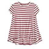 The Stripe: A Babydoll Tee