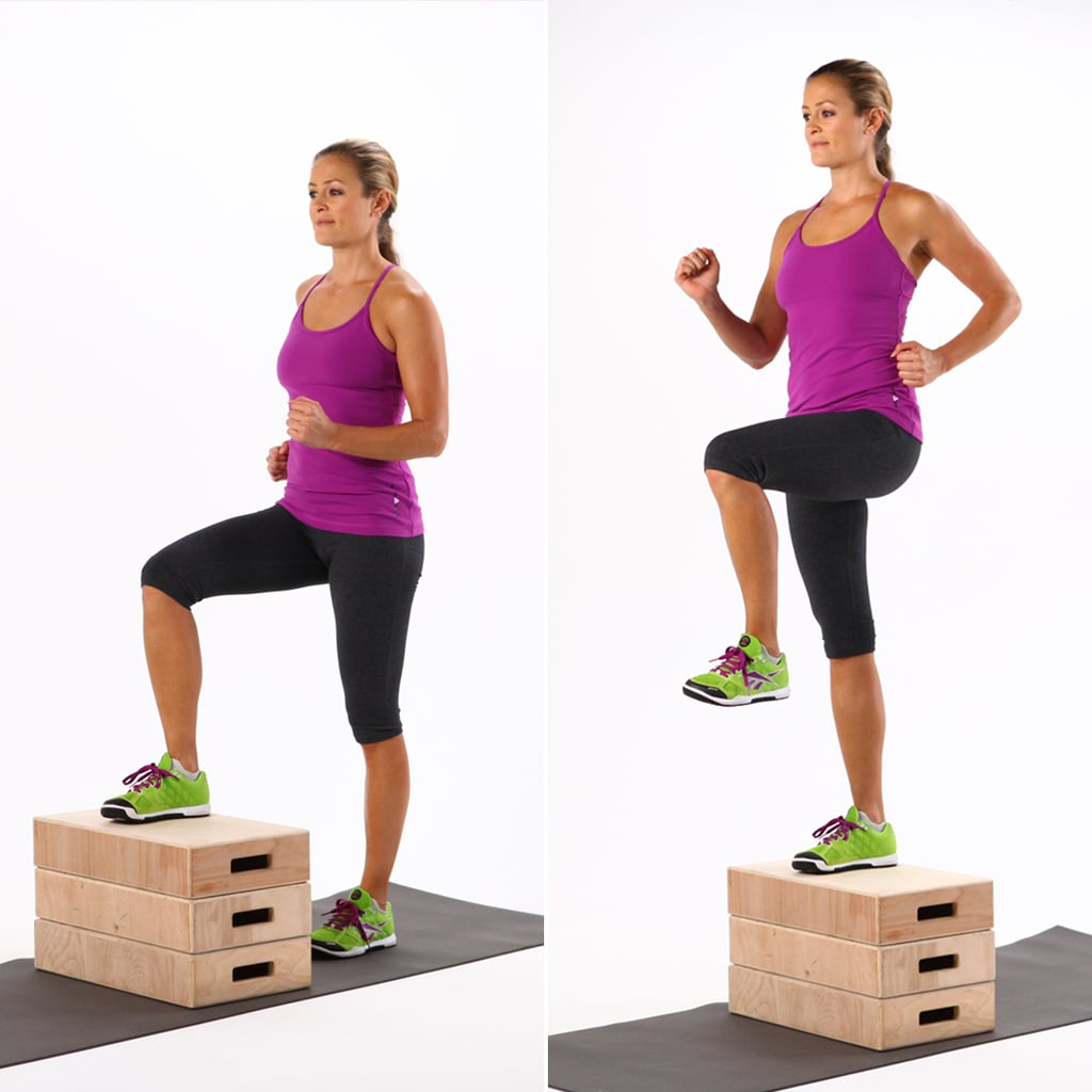 Full Body Circuit Workout To Strengthen Legs Abs And Arms Workouts Tagged Popsugar Fitness