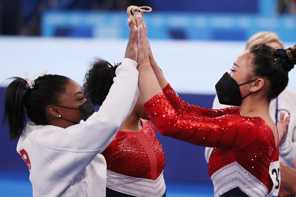US Olympic Women's Gymnastics Team Gets Silver, ROC Wins