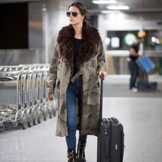 Alessandra Ambrosio Airport Style