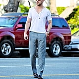 Ryan Gosling Shows Off His Muscles and Chest on a Sunny Saturday