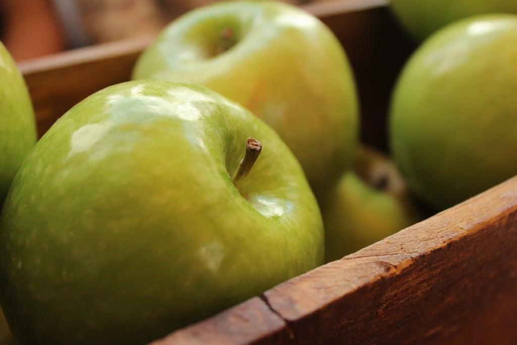 Pick apples.