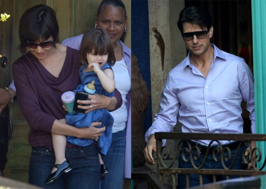 Photos of Suri Cruise With Tom Cruise and Katie Holmes