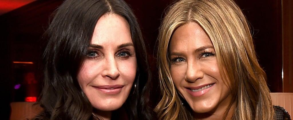 Jennifer Aniston and Courteney Cox at Dumplin' LA Premiere