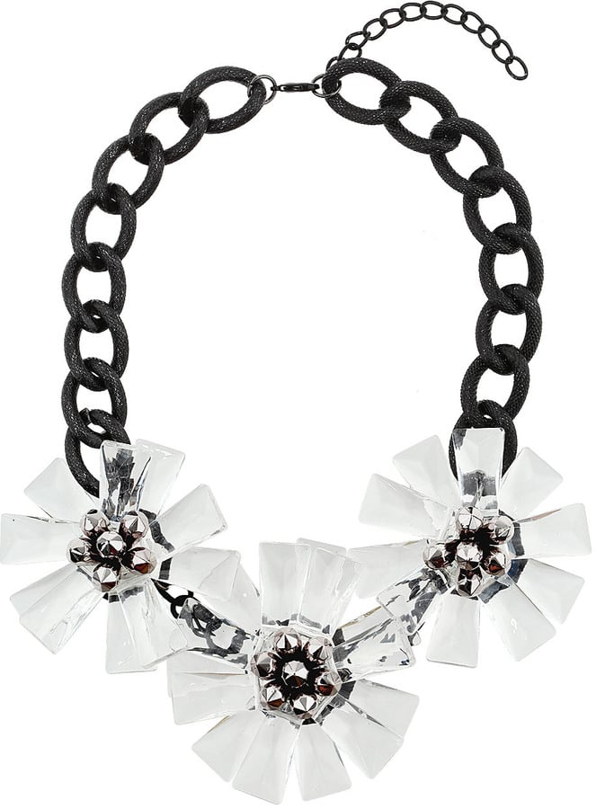 Topshop Floral Statement Necklace