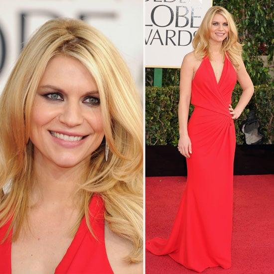 Claire Danes   Golden Globes Red Carpet Fashion 2013