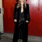 Miley Cyrus at the Tom Ford New York Fashion Week Show