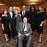 He Attended Barbara Bush's Funeral in Houston
