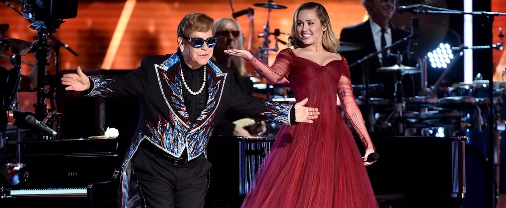 """Calling All Blue Jean Babies: You Need to Watch Miley Cyrus and Elton John's """"Tiny Dancer"""" Duet"""