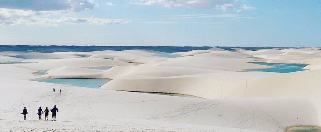 These Clear Blue Sand Dune Lakes in Brazil Look Like an Unreal Desert Oasis