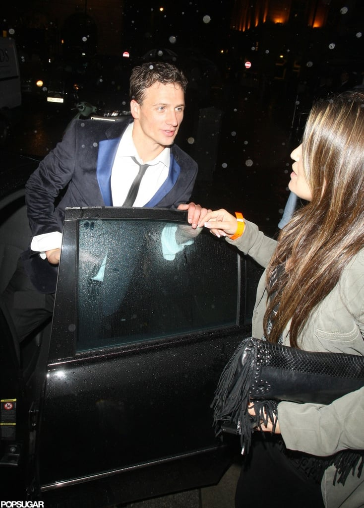 Ryan Lochte partied at London's Mahiki.