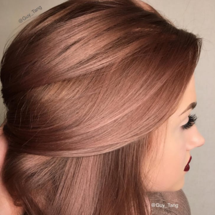 Coloration cheveux rose