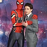 When he leaned in with a questionably crotched Spider-Man . . .